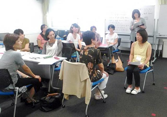 グループワークで仲間と共に考える時間は受講生にとって精神的にも有意義な時間