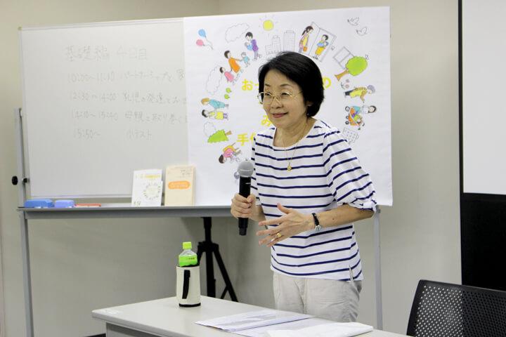助産師:渡邊先生講座のようす